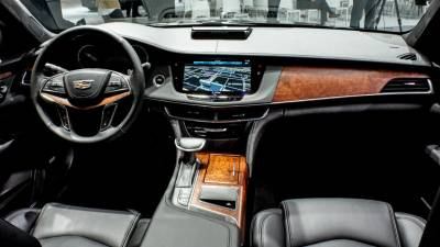 CT6 dash with Panaray