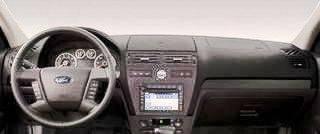 Ford Fusion 2006-2009 w// Sensors Carpet Dash Cover Mat Black