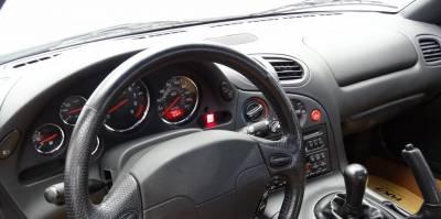 Mazda RX7 dashboard