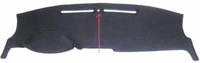 Lincoln MKZ dash cover