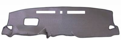 Hyundai Kona dash cover with optional cutouts