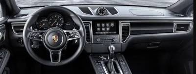 Porsche Macan 2015-2018 dashboard with Clock