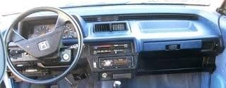 Honda Civic Wagon dashboard