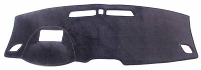 Hyundai Veloster dash cover with HUD cutout