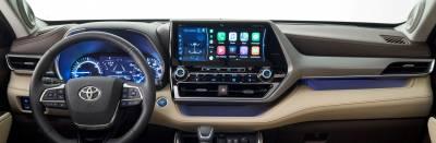 Toyota Highlander dashboard