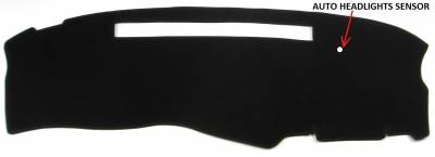 DashCare by Seatz Mfg - Dash Cover - Chevrolet S10 Blazer & Pickup 2003-2005