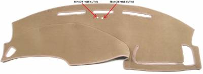 DashCare by Seatz Mfg - Dash Cover - Ford F150 1999-2003
