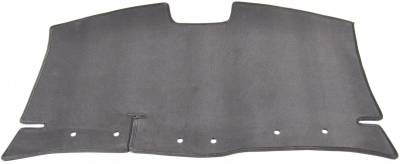 DashCare by Seatz Mfg - Rear Deck Cover - Toyota Corolla 2005-2008 With 3 Headrests