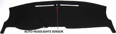 DashCare by Seatz Mfg - Dash Cover - Lincoln MKZ 2010-2012