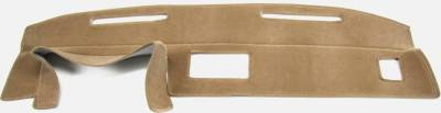 DashCare by Seatz Mfg - Dash Cover - Chevrolet El Camino 1982-1987 (Drops down On Passenger Side)