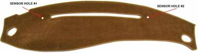 DashCare by Seatz Mfg - Mercury Mountaineer 1996-2001 -  DashCare Dash Cover