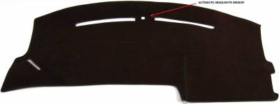 DashCare by Seatz Mfg - Dash Cover - Mercury Sable 2000-2005