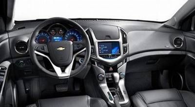 Cruze Version A - Lower Display and storage box sloping downward
