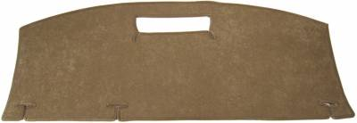 DashCare by Seatz Mfg - Rear Deck Cover - Infiniti I 35 2002-2005 Without Optional Retracting Sunshade