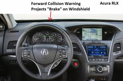 Optional Forward Collision Warning Projector