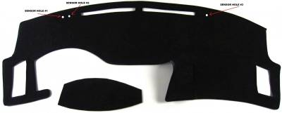 DashCare by Seatz Mfg - Dash Cover - Infiniti FX35 & FX45 2003-2008