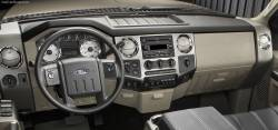 This version Ford Super Duty dash should look like this!