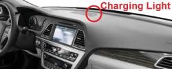 Sonata Plug-in Charging Light position