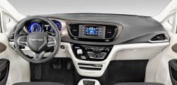 Chrysler Pacifica Non-Hybrid Models Dashboard