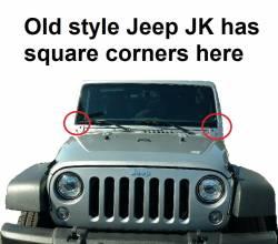 Old Style Jeep JK