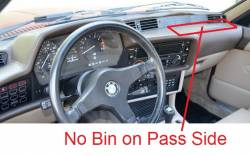 DashCare by Seatz Mfg - BMW 6 Series 1977-1989 -  DashCare Dash Cover - Image 3