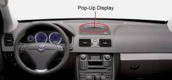 XC90 dash display down