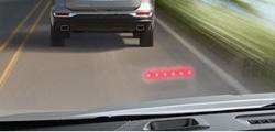 FCA Forward Colision Alert warning lights