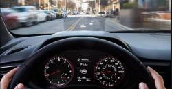 Veloster HUD Popup Screen