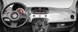 Fiat 500 dash side view