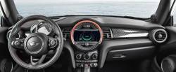 Mini Convertible dash with HUD