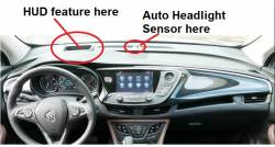 Buick Envision Dash with HUD