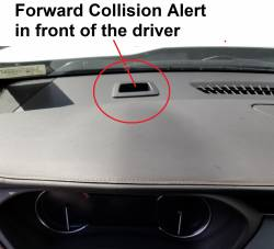 Cadlillac XT4 Forward Collision Alert