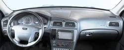 Volvo V70 dashboard without popup display