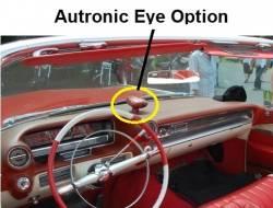 Autronic Eye Option on the dashboard