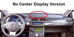 CT Hybrid version without Center Display