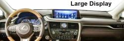 RX Series dash with Large Display