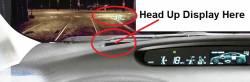 Prius Heads Up Display HUD