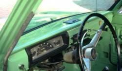 Datsun 520 /521 Pickup dashboard with Ash Tray
