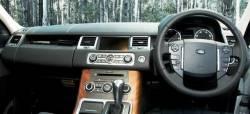 Range Rover Sport RHD dashboard