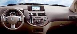 Nissan Quest Large Display version dashboard