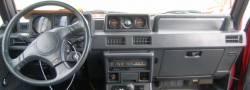Montero Dashboard woth Optional gauges