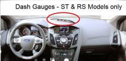 Focus Dash with Gauges for RS / ST Models