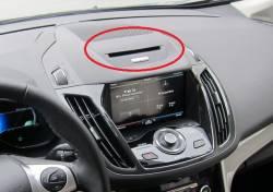 C Max CD Slot Above Display Closeup