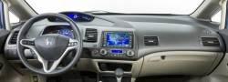 Civic dashboard large display version