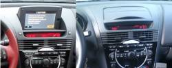 RX8 dashboard with Flip Up Center Display