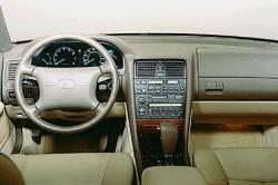 Lexus LS dashboard