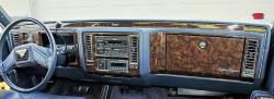 Cadillac Brougham D'Elegance dashboard