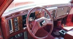 Cadillac Brougham dashboard