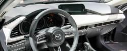 Mazda 3 dashboard driver side view