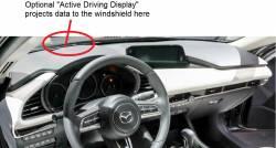 "Mazda 3 ""Active Driving Display Option"